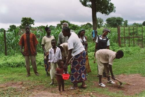 Modibo et ses ouvriers